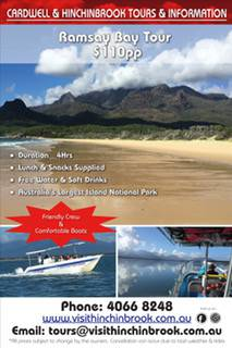 Cardwell & Hinchinbrook Tours & Information