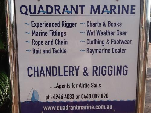 Quadrant Marine Chandlery & Rigging Services