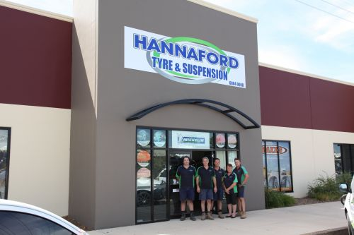 Hannaford Tyre  Suspension