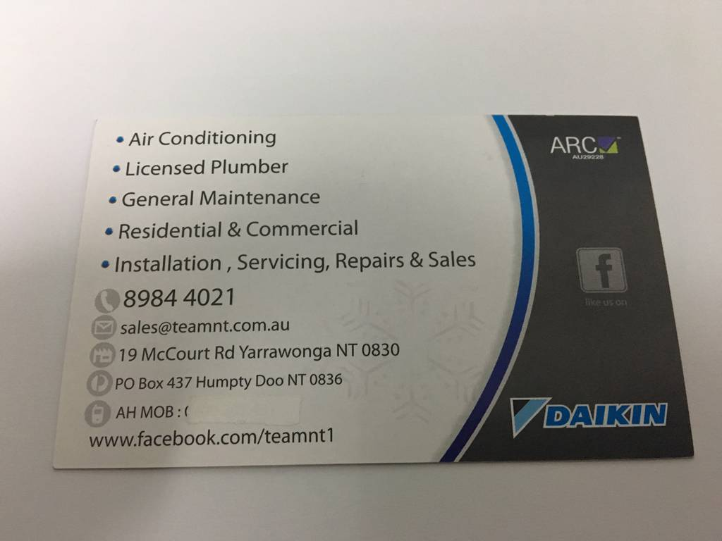 Top End Air Conditioning  Maintenance