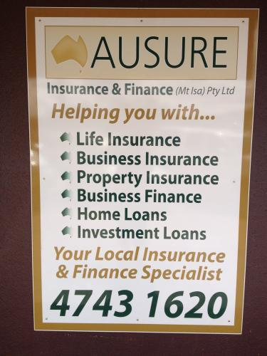 Ausure Insurance  Finance Mt Isa Pty Ltd