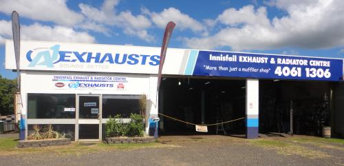 Innisfail Exhaust  Radiator Centre
