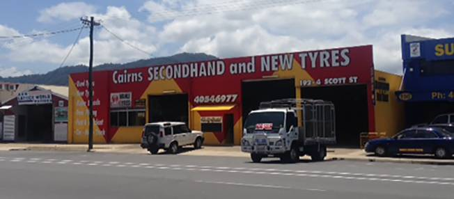 Cairns Secondhand  New Tyres