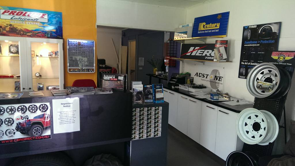 Hinterland Tyres  Automotive Services