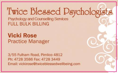 Twice Blessed Psychologists