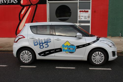 Blue 83 Driving School