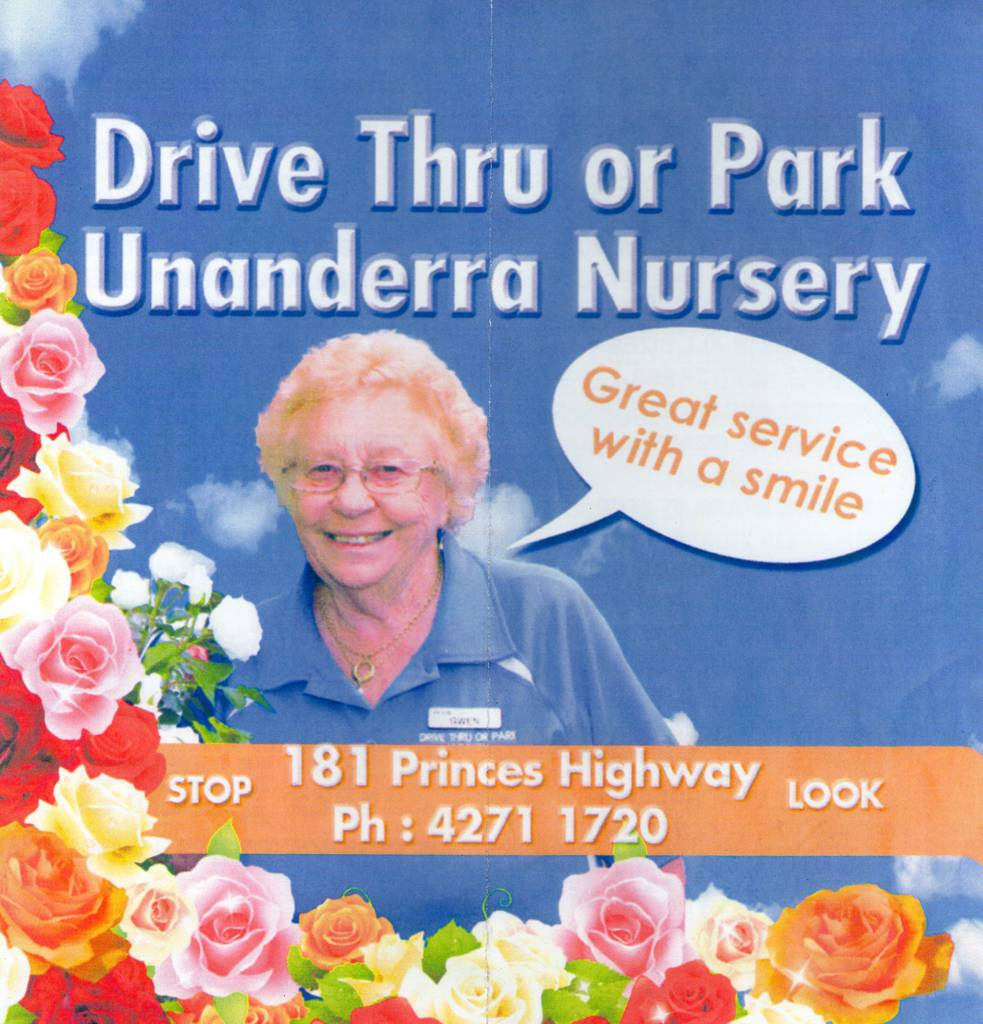 Drive Thru or Park Unanderra Nursery