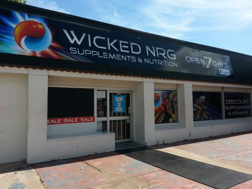 Wicked NRG Supplements  Nutrition