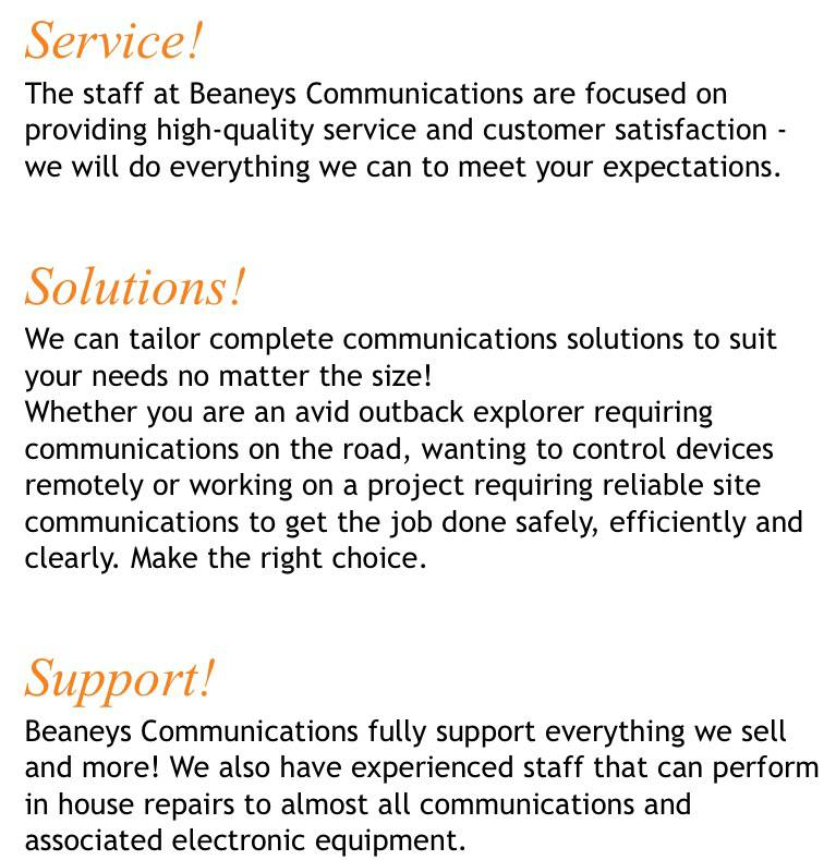 Beaneys Communications