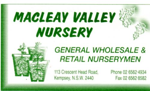 Macleay Valley Nursery